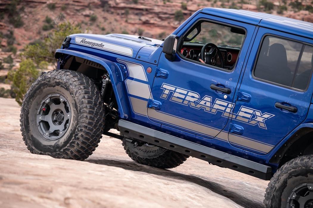 Blue Jeep
