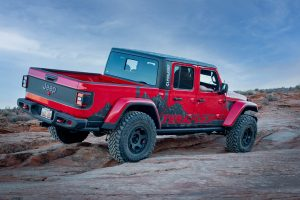 2020 Red Gladiator Rubicon